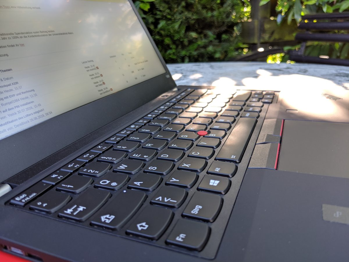 Thinkpad T490 (Low Power FHD IPS) Testbericht