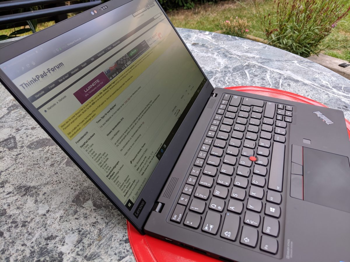 Thinkpad X1 Carbon 2019 (Low Power FHD IPS) Testbericht