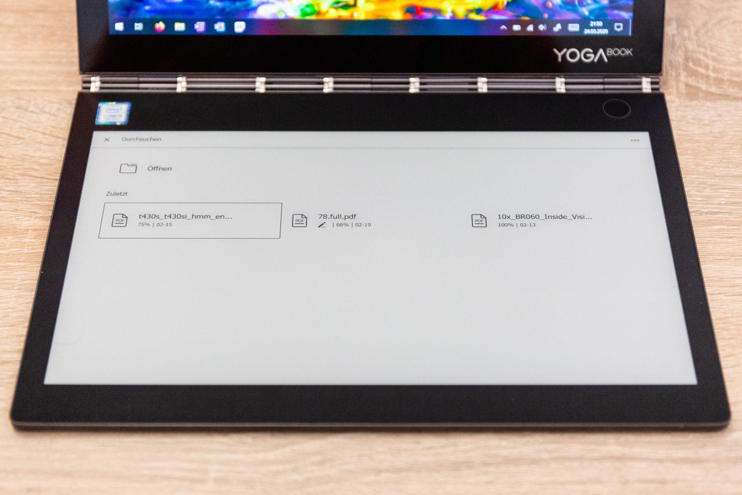 Lenovo Yoga Book C930 Testbericht Reviews Und Kaufberatung