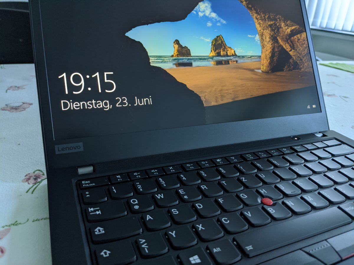 Thinkpad T14 (Low Power FHD IPS) Testbericht